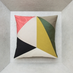 The graphic cushion for pop art decor